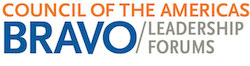 Council of the Americas BRAVO Leadership Forums logo