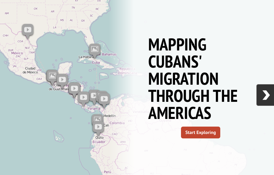Infographic: Mapping Cubans' Migration through the Americas ... on