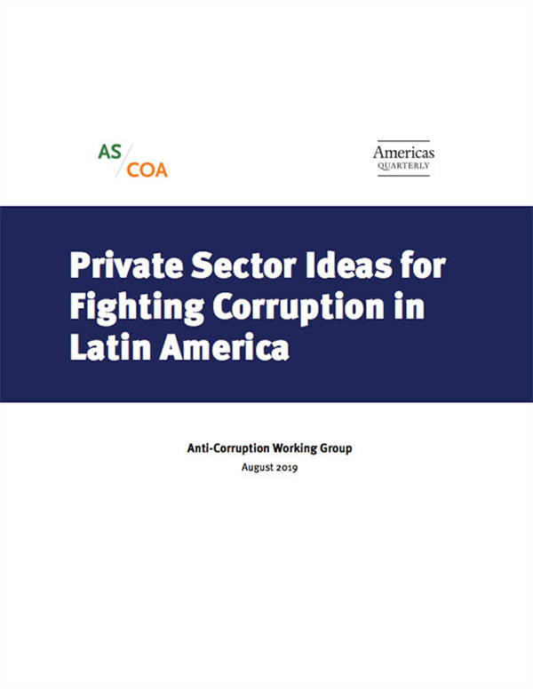 Anti-Corruption Working Group   AS/COA