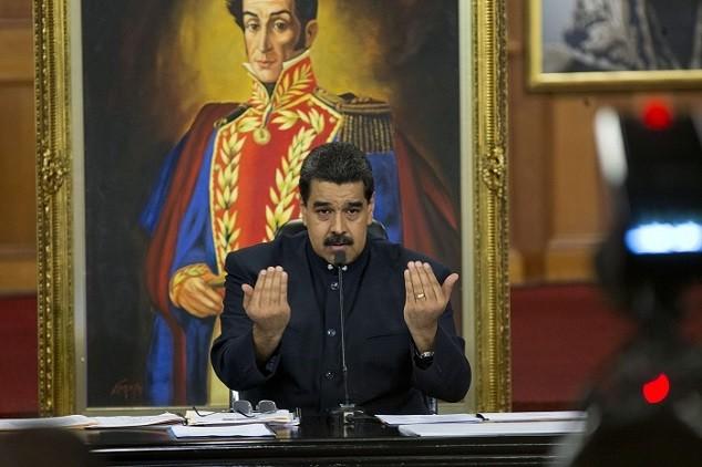 Nicolás Maduro (Image: AP)