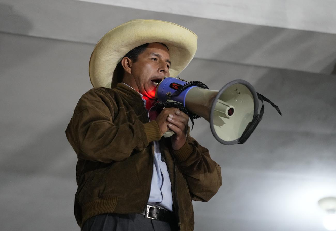 In Peru, Pedro Castillo Leads by Razor-Thin Margin | AS/COA