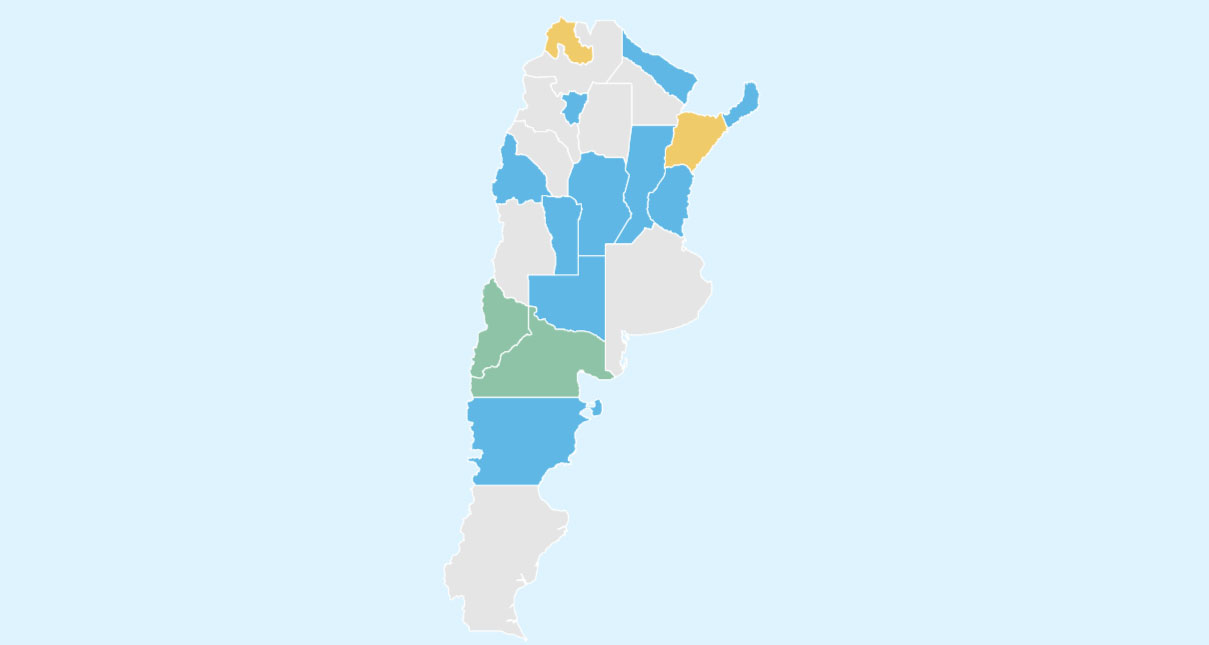 Mapping Argentina\'s 2019 Gubernatorial Elections | AS/COA