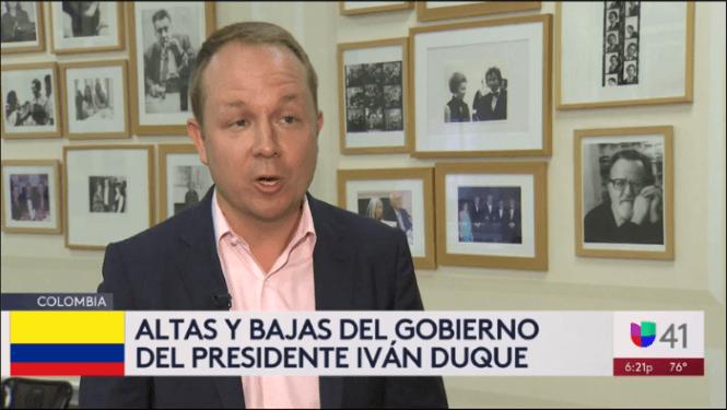 Brian Winter on Univisión