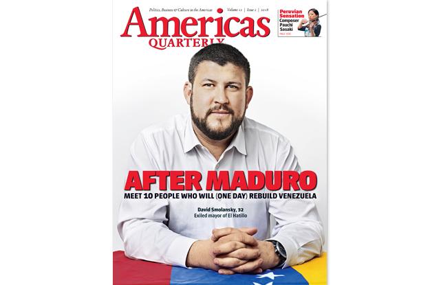 Americas Quarterly After Maduro Venezuela cover