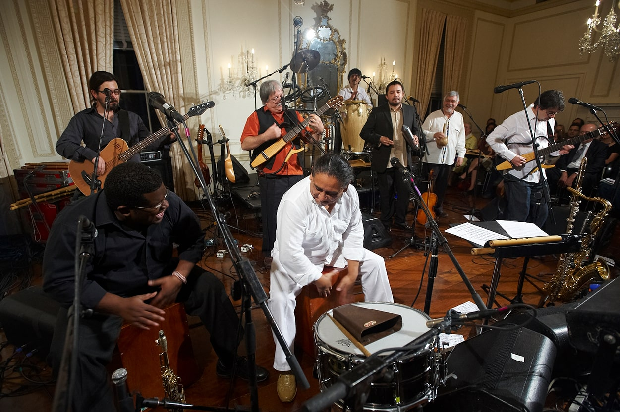 Inti Illimani performs at Americas Society in 2009.