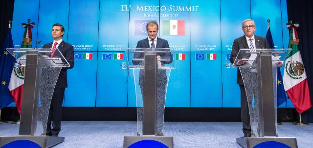 Enrique Peña Nieto EU Mexico European Union Commission Summit