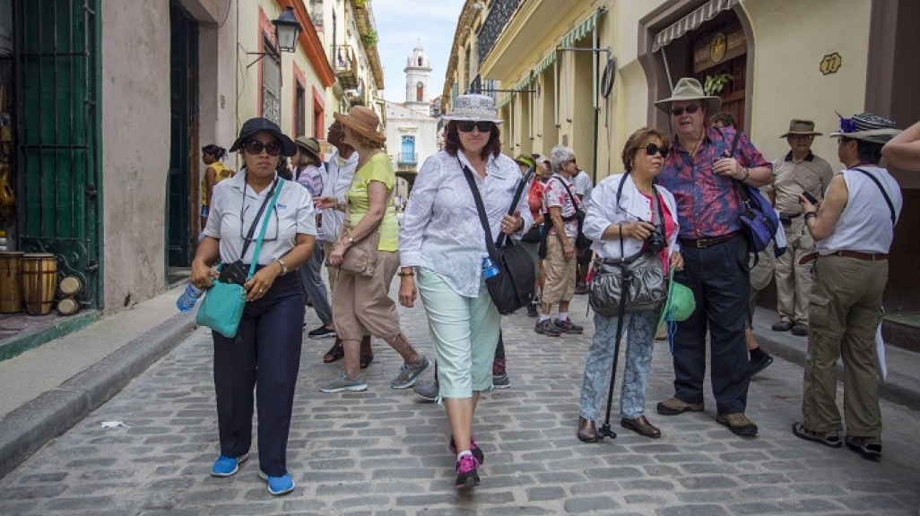 Cuban tourists