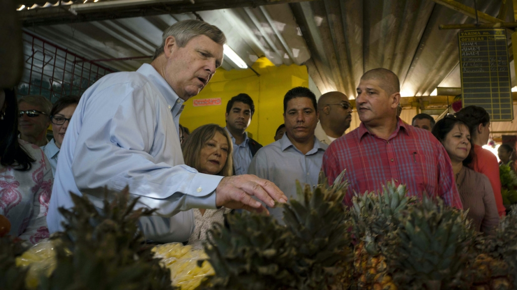 Tom Vilsack in Havana in 2015.