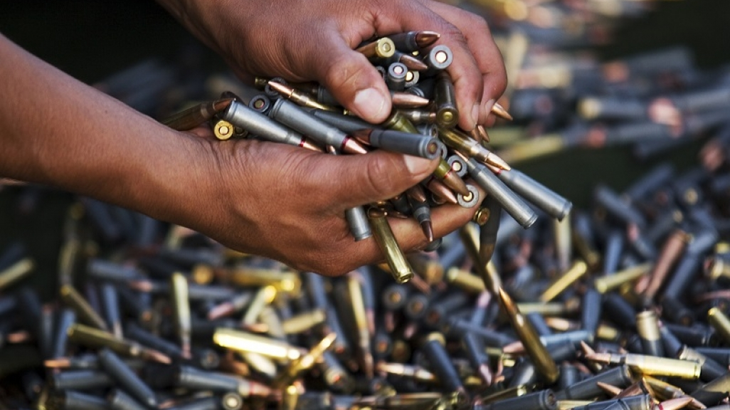 Seized bullets in Mexico. (AP)
