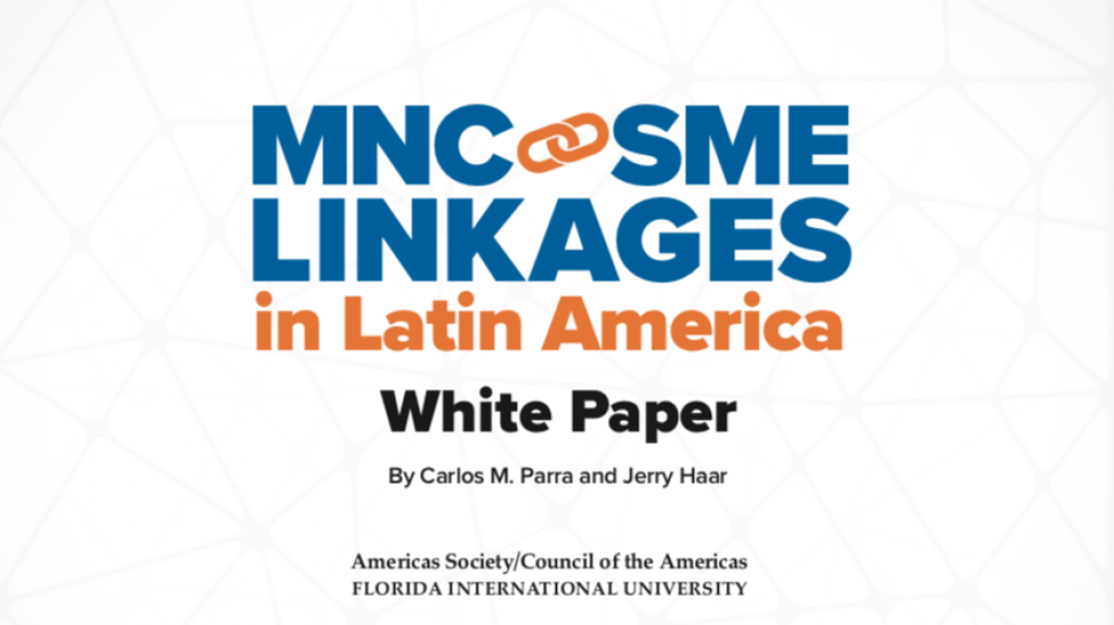 MNC-SME Linkages in Latin America