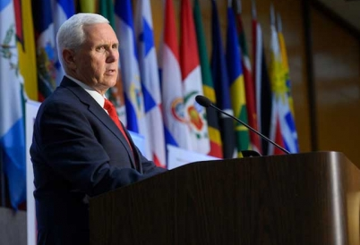 U.S. Vice President Mike Pence at the 49th Washington Conference on the Americas