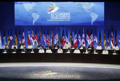 2012 Summit of the Americas in Cartagena, Colombia. (AP)